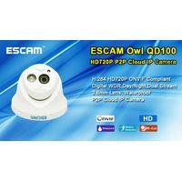 Escam HD720P QD100 ONVIF H.264 P2P hp waterproof camera shenzhen Guangdong