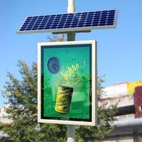Environmental Advertising Solar Single Side Lightbox