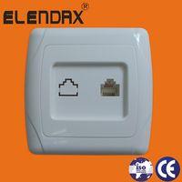 EU Wall Socket Type RJ45 socket (F3011) thumbnail image