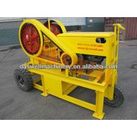 2013 Low Cost mobile diesel engine jaw crusher
