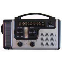 Solar Dynamo Emergency Radio Super LED Lights Charger Crank radios thumbnail image