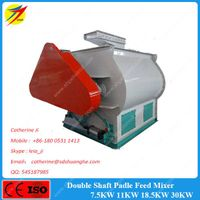 High speed and efficient feed and sawdust mixer machine