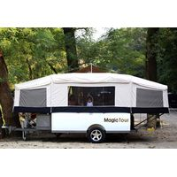 Australian Style Hard Floor off Road Trailer Tent Trailer RV Caravan Trailer Camp Trailer