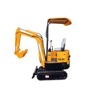 0.8T mini crawler excavator