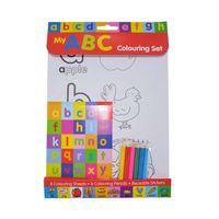 Letters Colouring Set Wtih Pencils thumbnail image