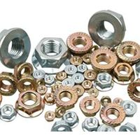 Hexagon nuts with serrated flange