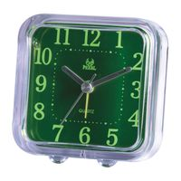 factory sheaper mini table clock with green clock face for promotion gift thumbnail image