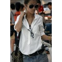 Pure Color Single Pocket Casual Tshirt,Women's T-shirt thumbnail image