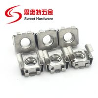 Zinc plated cage nut M5 M6 M8 stainless steel 201 304 cage nut for rock cabinet thumbnail image
