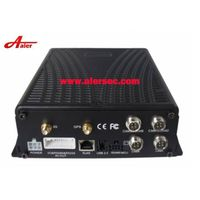 8 Channel HDD GPS tracking module Vehicle CCTV Mobile DVR support 2T sata hard disk with back up SD