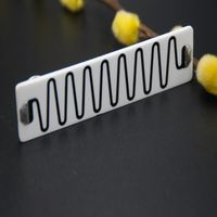 Manufacture used for electrical power capacitors ceramic Glass glaze high voltage resistance voltage thumbnail image