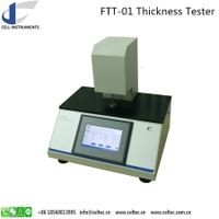 Plastic film fabric thickness tester 0.1 micrometer high resolution thickness gauge