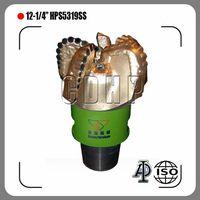 "12-1/4"" Diamond PDC Drill Bits S323 HPS5319SS PDC Bits"