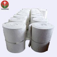 High temperature fire insulation ptotection kiln liner thermal ceramic fiber blanket thumbnail image