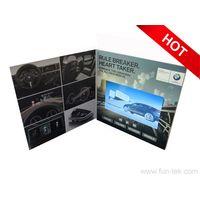"funtek Video Brochure for marketing campaigns, 7.0"" LCD color screen 16GB memory 1000mAh Re-chargera"