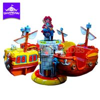 Amusement Indoor Playground Game Machine Rotating Rides Electric Pirate Plane