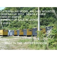 5 UNITS OF CATERPILLAR MODEL 400 GENERATOR