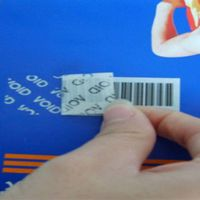 tamper evident security labels/stickers
