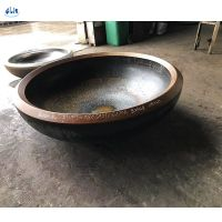 boiler stainless steel dish end