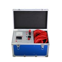 100A 200A 300A DC Contact Resistance Tester Loop Resistance Tester
