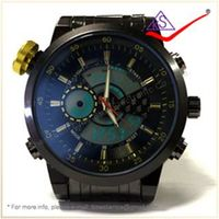 Analog-Digital Hot Sale Men Sportwatch 30m Waterproof Sport Watch Wholesale