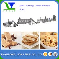 corn-filling snacks processing line