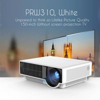 simplebeamer PRS310 led home theater 2500 ansi lumens projector thumbnail image