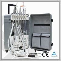 Hot sale the best price portable dental chair with suitcase
