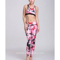 Wholesale Breathable Yoga Leggings Sexy Landscape for Woman