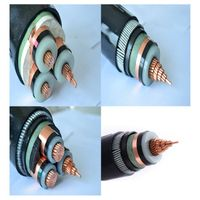 LV XLPE/PVC insulated PVC sheath power cable
