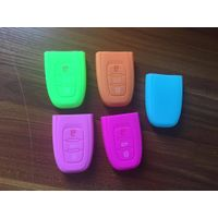 Silicone car key cover for Audi