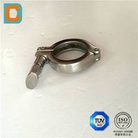 stainless steel presision pipe clamp