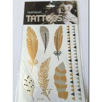 Newest fashion 3D designed body tattoo sticker