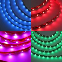 RGB/Full Color Waterproof SMD 5050LED Flexible Strip Light 30leds/60leds LED Strip Light Manufacture thumbnail image