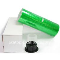 green car light protection film