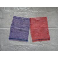 raschel mesh bag 25x39cm, red, violet thumbnail image