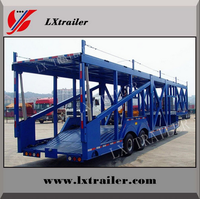 3 Axles Fuwa Brand Car Carrier Semi Trailer Hot Sale In Shandong