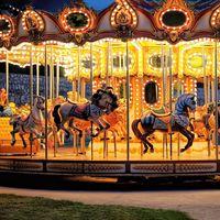 38 Seats Double Carousel Ride HFDC04--Hotfun Amusement rides thumbnail image