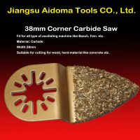 Finger oscillating carbide saw blade fits multimaster bosch thumbnail image