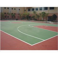 RoHS Silicon PU surface coating for sport court ground surface