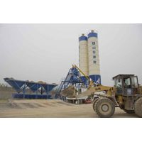 SHANDONG JIANLING MACHINERY HZS75 concrete batching plant for sale