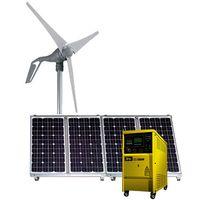 1.2KW Hybrid Solar Wind Power