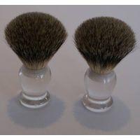 nice silvertip badger hair shaving brushes thumbnail image