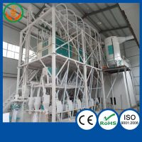 5T/10T/30T/50T/100T/120T/300T/600T wheat/corn/maize flour milling machine with price