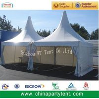 High peak aluminum pagoda gazebo tent