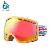 China sports winter glasses 2018 fashion snowboard goggles