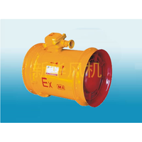 Mining flame-proof blowing axial flow local fan