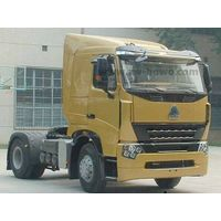 HOWOA7 4X2 Tractor Truck with Flat Cab 340 HP