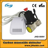 Methane gas detector alarm with audible and visual alarm