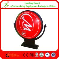 Rotating Acrylic Illuminated Led Advertising Thermoforming Light Box